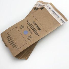 Крафтпакеты DEZUPAK коричневые 75х150 (100 шт/уп) 1  295