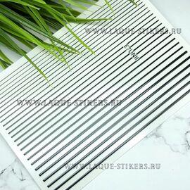 3D эластичные металлические наклейки полосы BLACK (гнутся) 1  140
