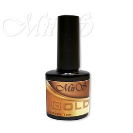 Miis Glitter Top Gold 7.3 ml 1  300