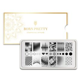 Пластина BORN PRETTY 12*6 Artist BP-L007 для стемпинга 1  250