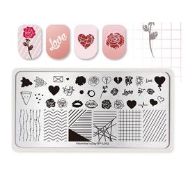 Пластина BORN PRETTY 12*6 Valentine`s day BP-L002 для стемпинга 1  250