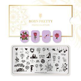 Пластина BORN PRETTY 12*6 Valentine`s day BP-L003 для стемпинга 1  250