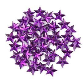 3d пайетки звёзды фиолетовые 1  70