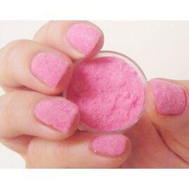 Флок пушок на ногти розовый 1  30