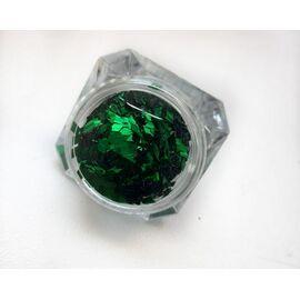 3d пайетки ромбы зелёные 1  70