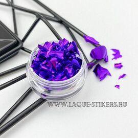 """Поталь для дизайна ногтей """"Фиолетовый"""" 1  70"""