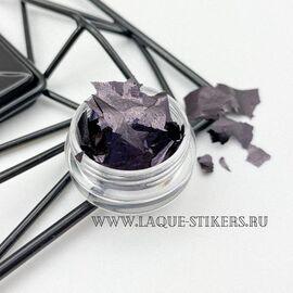 """Поталь для дизайна ногтей """"ЧЁРНЫЙ"""" 1  70"""