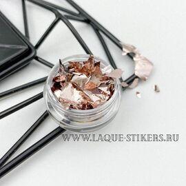 """Поталь для дизайна ногтей """"ШАМПАНЬ"""" 1  70"""