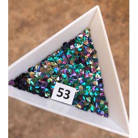 3d пайетки алмазы фиолетовозелёные 1  70