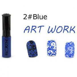 Краска для стемпинга KADS №02 синий 1  210