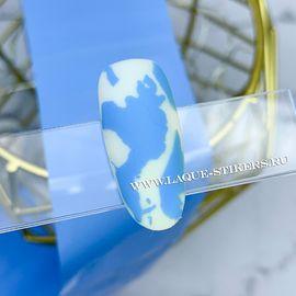 Фольга для литья 1 метр голубая матовая 1  70