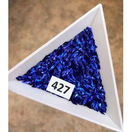 3d пайетки ромбы синие 1  70