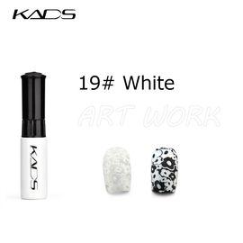 Краска для стемпинга KADS №19 белый 1  210