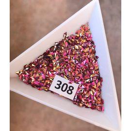 3d пайетки ромбы розово-золотые 1  70
