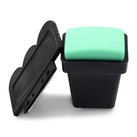 Штамп для стемпинга зеленый 1  40