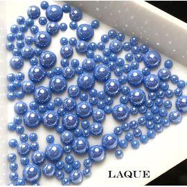 MIX жемчуг для дизайна - color BLUE COBALT (не теряют цвет) 1  140