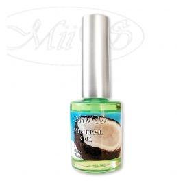 Mineral Oil, Масло питательное для кутикулы Кокос, с кисточкой 15 мл 1  180