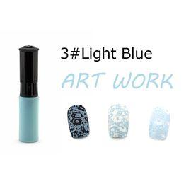 Краска для стемпинга KADS №03 голубой светлый 1  210