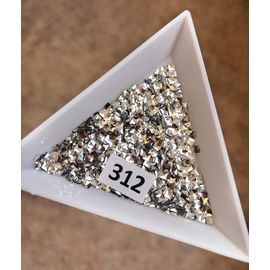 3d пайетки квадратики серебро 1  70