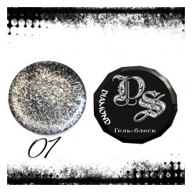 Dark Soul Diamond Гель блеск 5гр №1 1  300