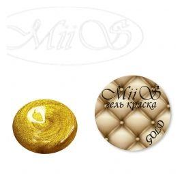 MiiS гель краска золото 1  180