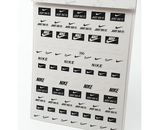 Эластичные наклейки с брендами NIKE 1  70