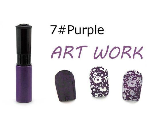 Краска для стемпинга KADS №07 фиолетовый 1  210