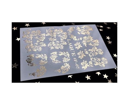 Слайдер-дизайн  Laque F-07 (золото) 1  110