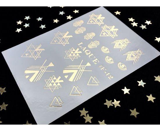 Слайдер-дизайн  Laque F-12 (золото) 1  60