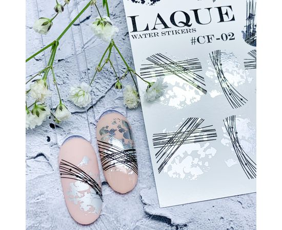 Слайдер-дизайн  Laque CF-02 (Silver+Black) 1  140