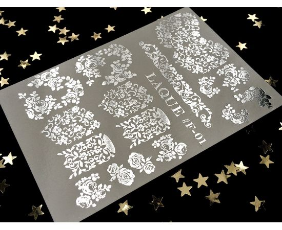 Слайдер-дизайн  Laque F-01 (серебро) 1  60
