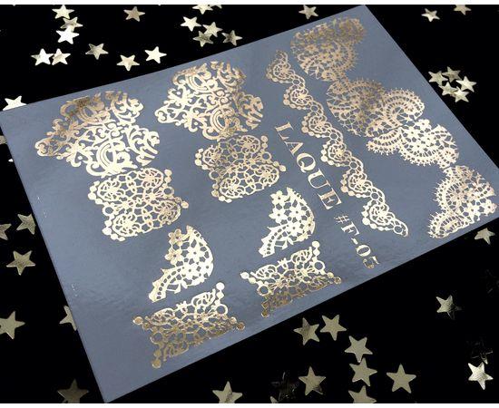 Слайдер-дизайн  Laque F-05 (золото) 1  60