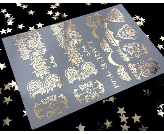 Слайдер-дизайн  Laque F-04 (золото) 1  60