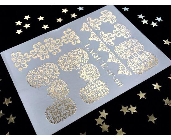 Слайдер-дизайн  Laque F-09 (золото) 1  50